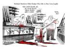 Cartoonist Jeff Danziger  Jeff Danziger's Editorial Cartoons 2014-05-26 NRA