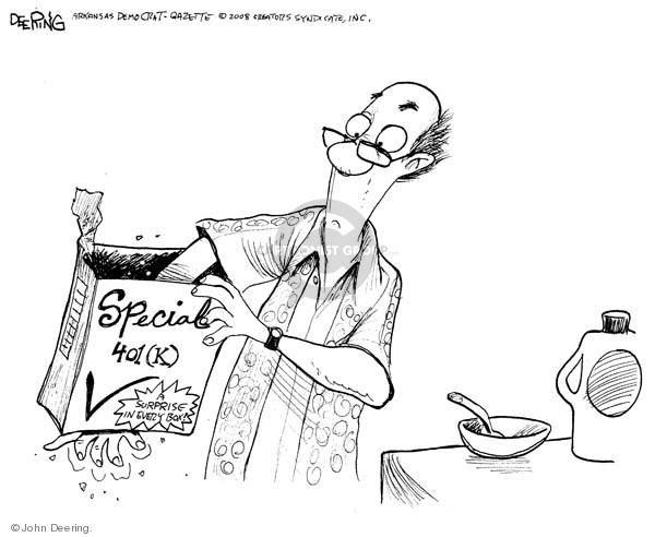 John Deering  John Deering's Editorial Cartoons 2008-10-15 economy