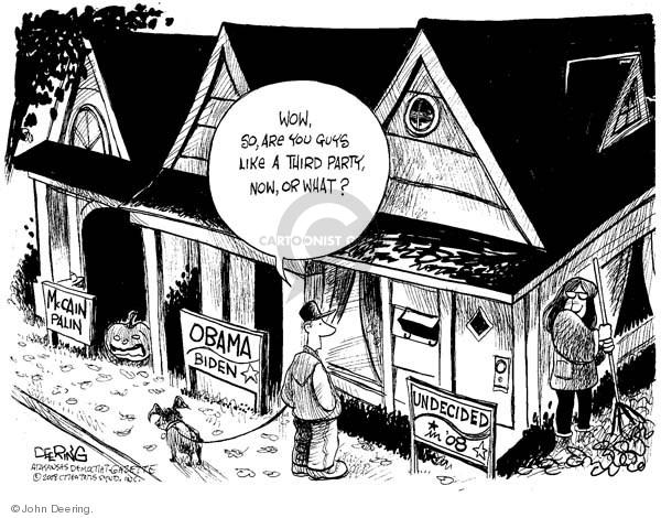 John Deering  John Deering's Editorial Cartoons 2008-10-28 Joe Biden