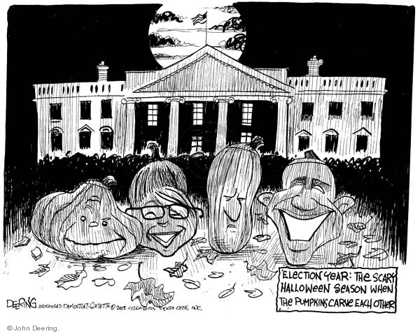 John Deering  John Deering's Editorial Cartoons 2008-10-29 2008 election
