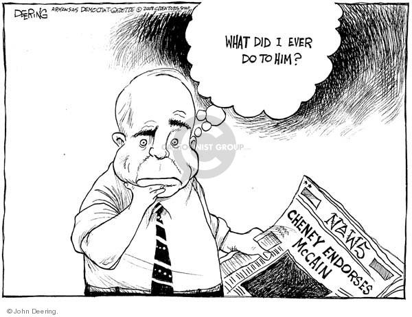 John Deering  John Deering's Editorial Cartoons 2008-11-04 2008 election endorsement