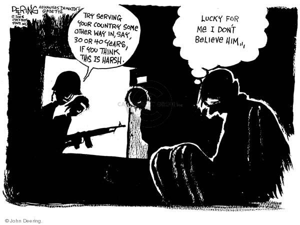 Cartoonist John Deering  John Deering's Editorial Cartoons 2008-11-05 campaign