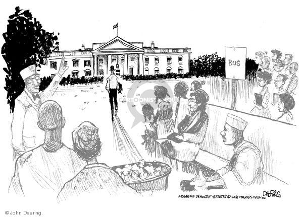 John Deering  John Deering's Editorial Cartoons 2008-11-06 racism