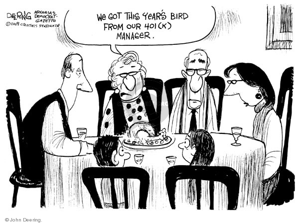 John Deering  John Deering's Editorial Cartoons 2008-11-26 lose