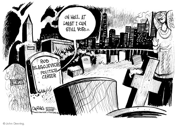 John Deering  John Deering's Editorial Cartoons 2008-12-16 corruption