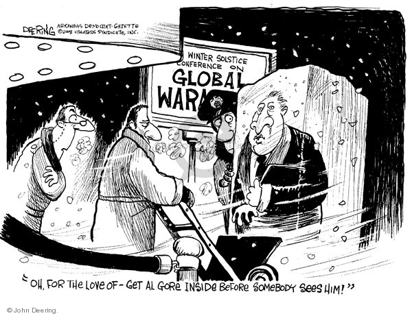 John Deering  John Deering's Editorial Cartoons 2008-12-23 environment
