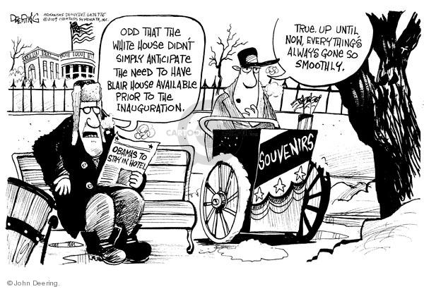 Cartoonist John Deering  John Deering's Editorial Cartoons 2009-01-05 family