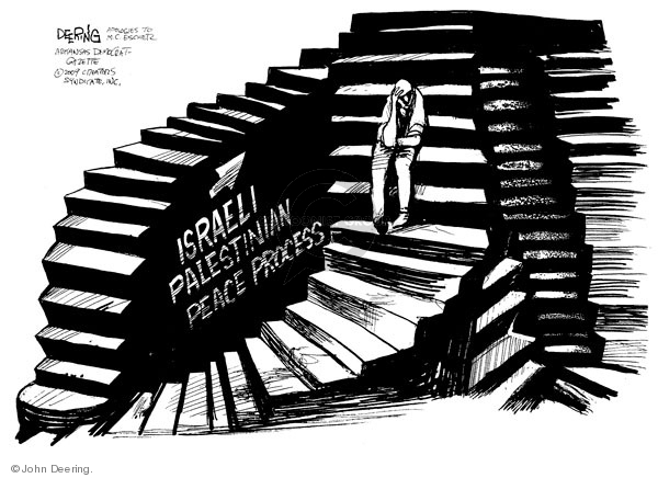 Israeli Palestinian peace process.
