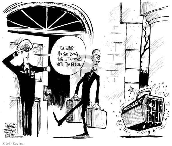 John Deering  John Deering's Editorial Cartoons 2009-01-06 White House