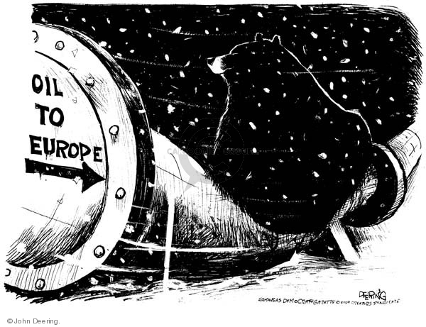 Cartoonist John Deering  John Deering's Editorial Cartoons 2009-01-13 oil