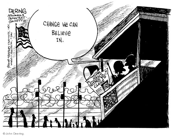 John Deering  John Deering's Editorial Cartoons 2009-01-23 civil liberty