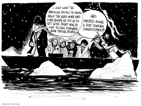 Cartoonist John Deering  John Deering's Editorial Cartoons 2009-02-23 boat
