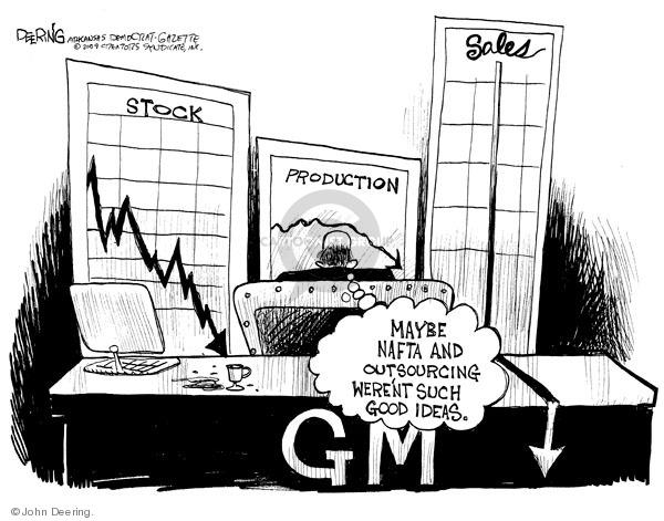 John Deering  John Deering's Editorial Cartoons 2009-02-23 trade