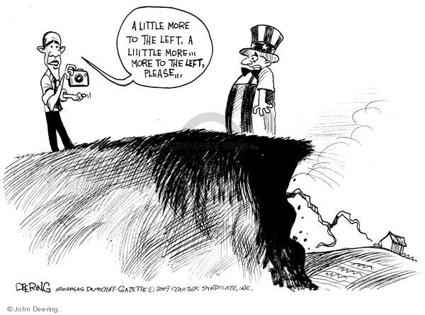 Cartoonist John Deering  John Deering's Editorial Cartoons 2009-03-12 liberal