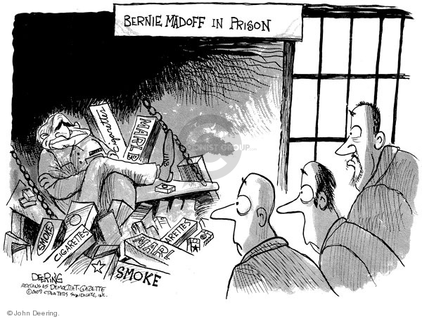 John Deering  John Deering's Editorial Cartoons 2009-03-16 stock market