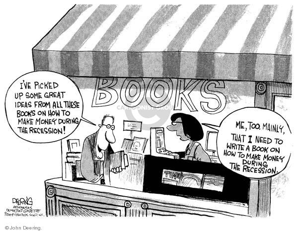 John Deering  John Deering's Editorial Cartoons 2009-03-25 investment