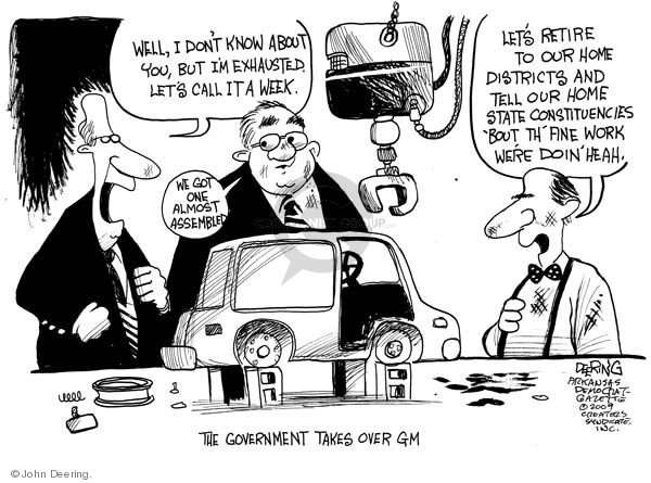 John Deering  John Deering's Editorial Cartoons 2009-04-02 state politician