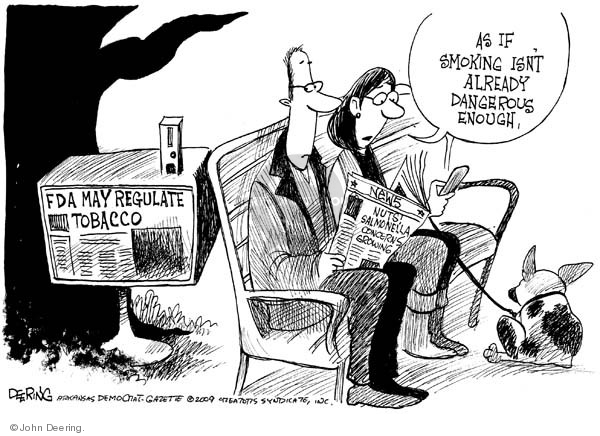 John Deering  John Deering's Editorial Cartoons 2009-04-09 regulation