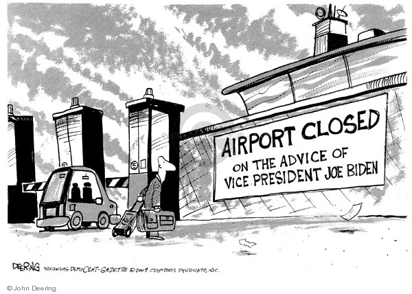 John Deering  John Deering's Editorial Cartoons 2009-05-01 Joe Biden