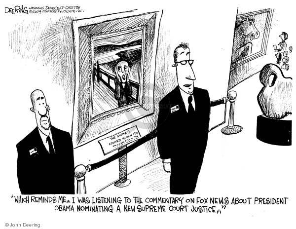John Deering  John Deering's Editorial Cartoons 2009-05-05 supreme court justice