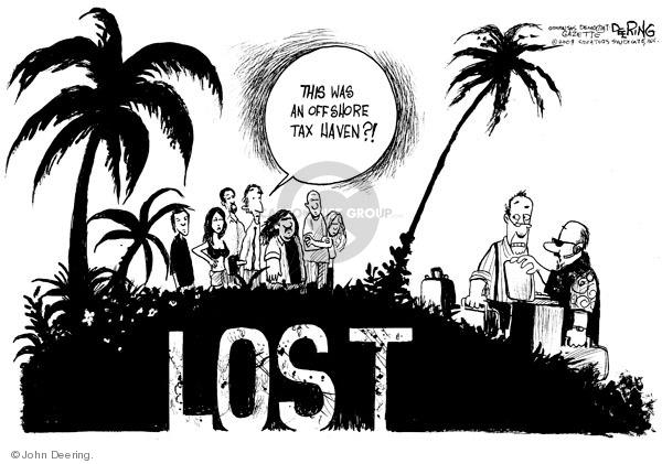 Cartoonist John Deering  John Deering's Editorial Cartoons 2009-05-08 television program