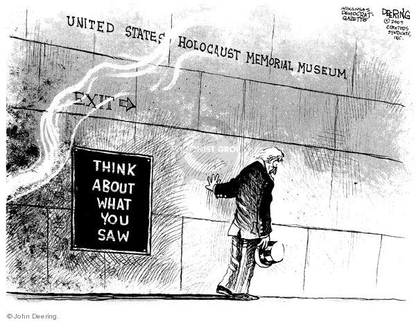 John Deering  John Deering's Editorial Cartoons 2009-06-11 bigotry