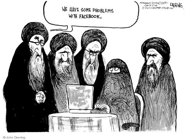 John Deering  John Deering's Editorial Cartoons 2009-06-22 mideast