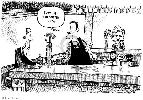 John Deering  John Deering's Editorial Cartoons 2009-07-20 state politician