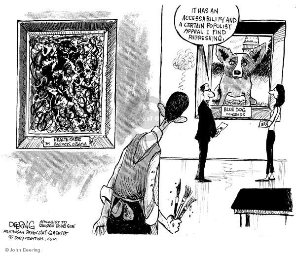 Cartoonist John Deering  John Deering's Editorial Cartoons 2009-08-03 art