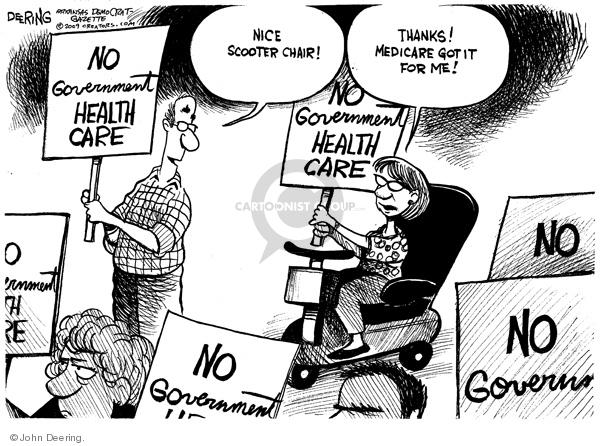 John Deering  John Deering's Editorial Cartoons 2009-08-10 protest