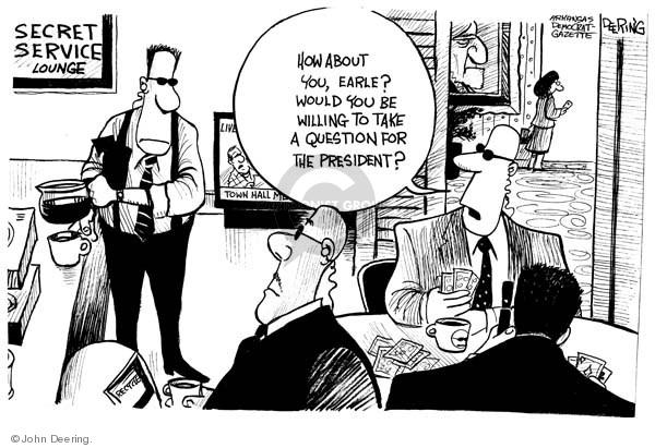 Cartoonist John Deering  John Deering's Editorial Cartoons 2009-08-12 hall