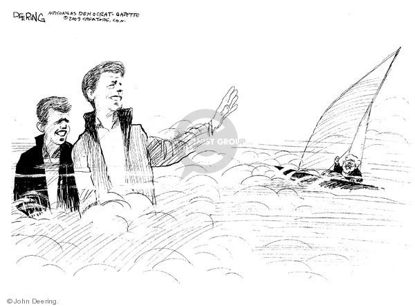 Cartoonist John Deering  John Deering's Editorial Cartoons 2009-08-27 boat