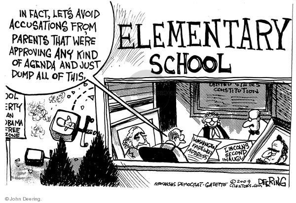 Cartoonist John Deering  John Deering's Editorial Cartoons 2009-09-08 Constitution