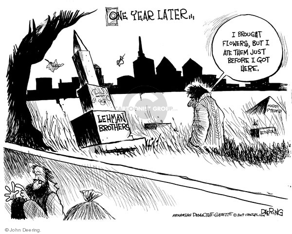 Cartoonist John Deering  John Deering's Editorial Cartoons 2009-09-15 Robert