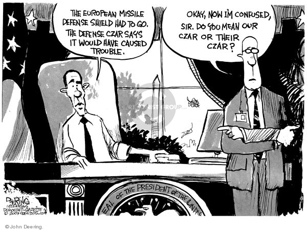 Cartoonist John Deering  John Deering's Editorial Cartoons 2009-09-18 Robert