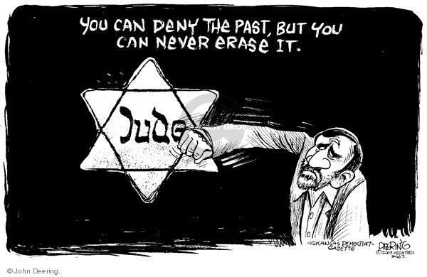 John Deering  John Deering's Editorial Cartoons 2009-09-28 Mahmoud Ahmadinejad