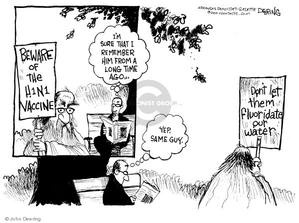 John Deering  John Deering's Editorial Cartoons 2009-10-22 protest