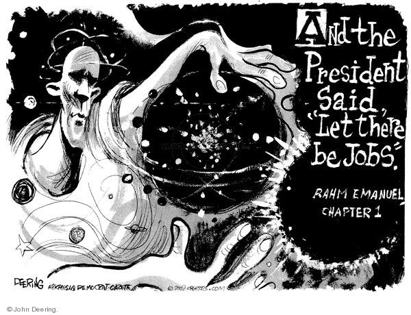 Cartoonist John Deering  John Deering's Editorial Cartoons 2009-11-06 editorial staff