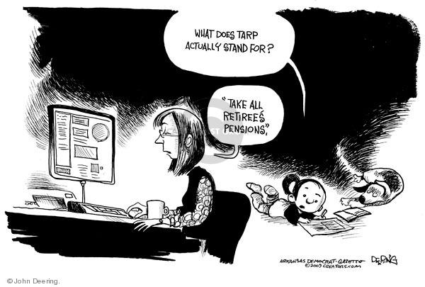 John Deering  John Deering's Editorial Cartoons 2009-12-09 assistance