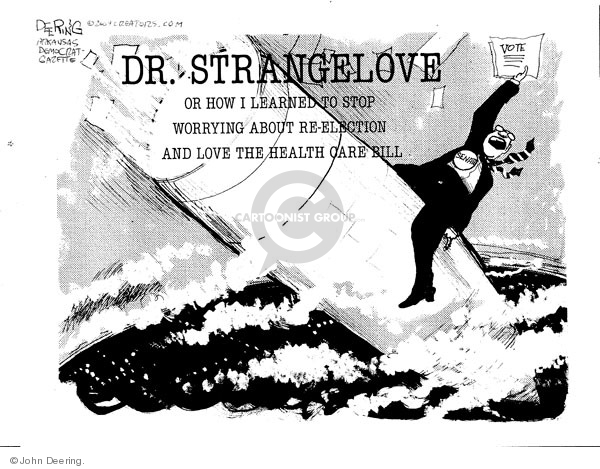 John Deering  John Deering's Editorial Cartoons 2009-12-24 health care reform