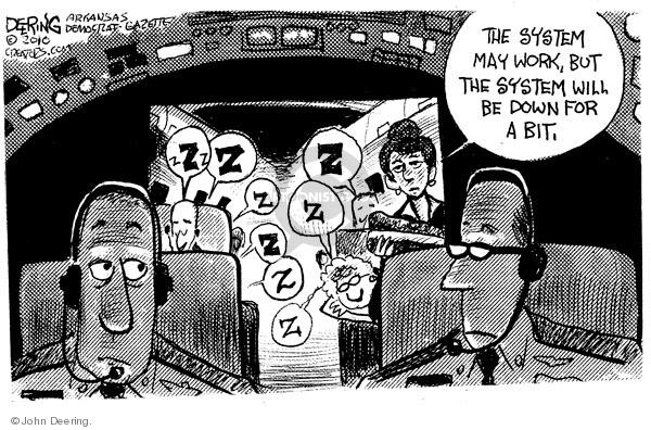 Cartoonist John Deering  John Deering's Editorial Cartoons 2010-01-08 airline