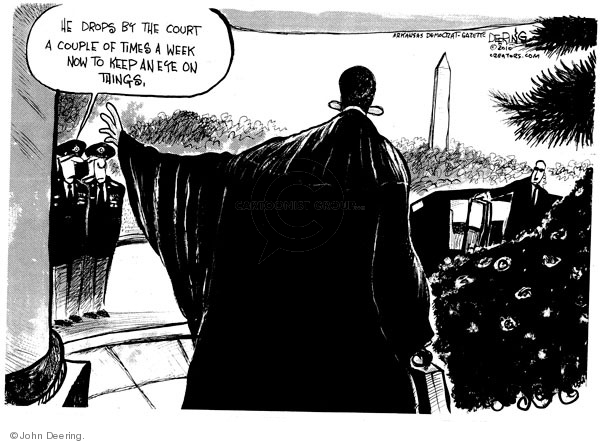 Cartoonist John Deering  John Deering's Editorial Cartoons 2010-02-01 John Branch