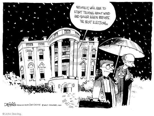 John Deering  John Deering's Editorial Cartoons 2010-02-18 White House