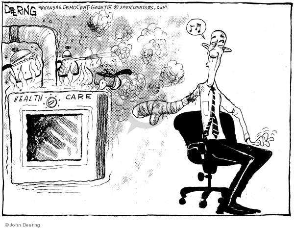 John Deering  John Deering's Editorial Cartoons 2010-02-23 health care reform