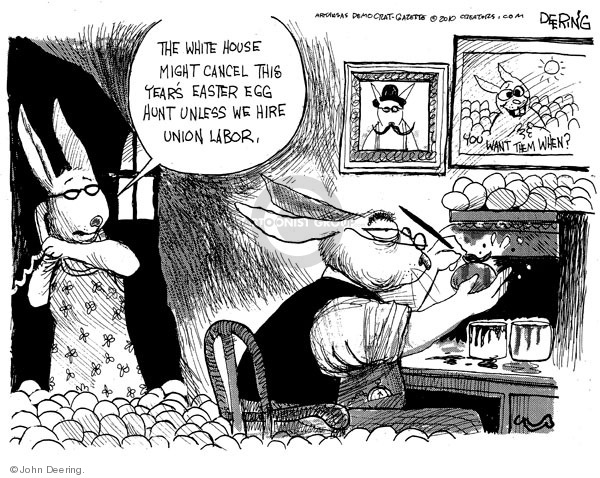 John Deering  John Deering's Editorial Cartoons 2010-04-02 White House