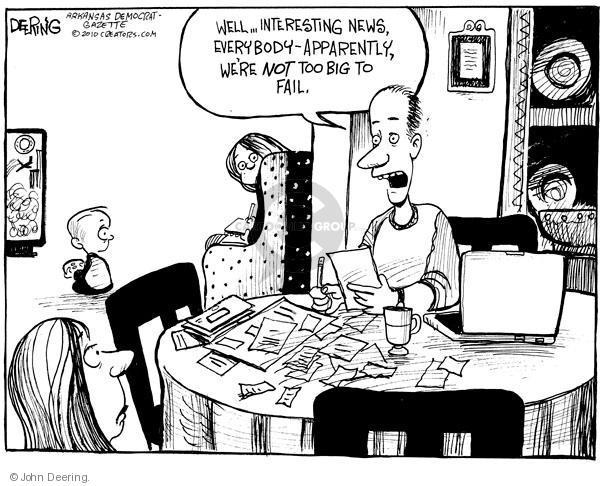 Cartoonist John Deering  John Deering's Editorial Cartoons 2010-04-23 family