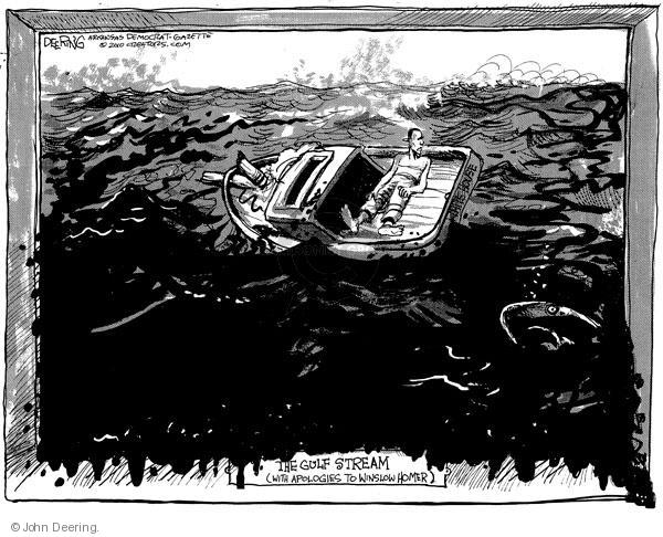 John Deering  John Deering's Editorial Cartoons 2010-05-28 environment