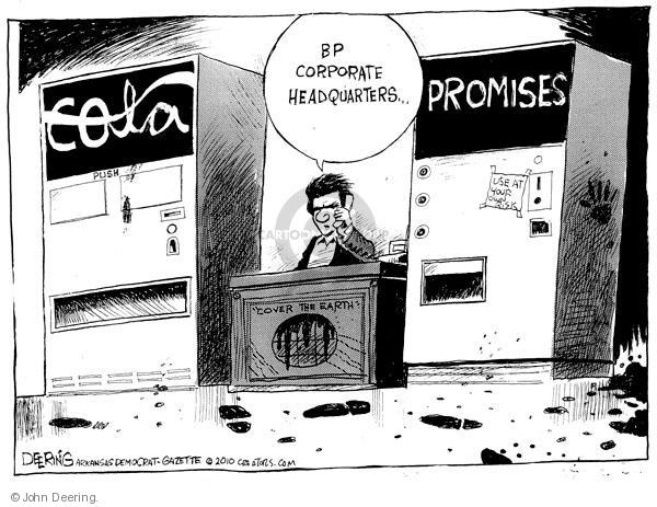 John Deering  John Deering's Editorial Cartoons 2010-06-06 environment