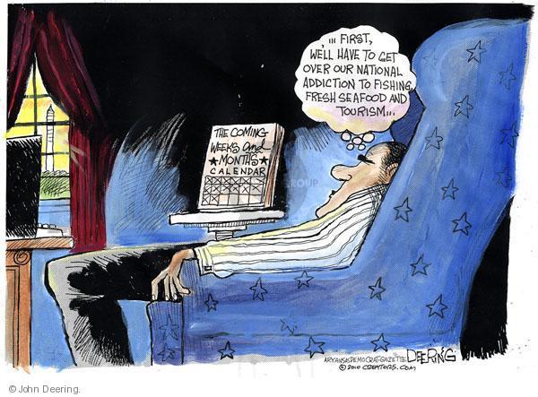 John Deering  John Deering's Editorial Cartoons 2010-06-17 aftermath
