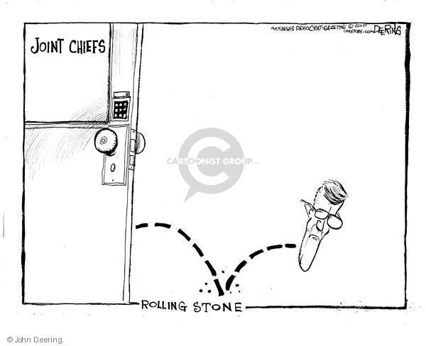 Cartoonist John Deering  John Deering's Editorial Cartoons 2010-06-22 editorial staff